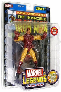 Marvel Legends Series 1 Action Figure Iron Man [Yellow & Red Armor]