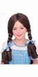 Wizard of Oz Kids Costume Dorothy Wig (Child-Standard Size) #50862