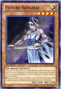 YuGiOh Zexal Samurai Warlords Structure Deck Single Card Common SDWA-EN013 Future Samurai
