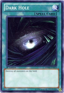 YuGiOh Zexal Samurai Warlords Structure Deck Single Card Common SDWA-EN023 Dark Hole