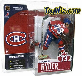 McFarlane Toys NHL Sports Picks Series 11 Action Figure Michael Ryder (Montreal Canadiens)