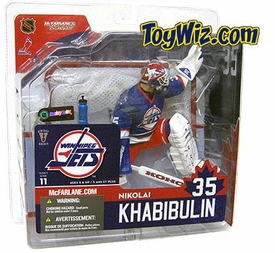 McFarlane Toys NHL Sports Picks Series 11 Action Figure Nikolai Khabibulin (Winnipeg Jets)