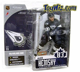 McFarlane Toys NHL Sports Picks Series 11 Action Figure Ales Hemsky (Edmonton Oilers) Black Jersey Variant