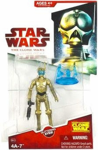 Star Wars 2009 Clone Wars Animated Action Figure CW No. 13 4A-7 BLOWOUT SALE!