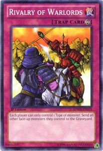 YuGiOh Zexal Samurai Warlords Structure Deck Single Card Common SDWA-EN033 Rivalry of Warlords