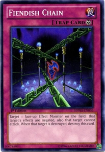 YuGiOh Zexal Samurai Warlords Structure Deck Single Card Common SDWA-EN036 Fiendish Chain