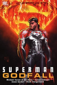 DC Comic Books Superman Godfall Trade Paperback