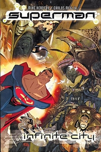 DC Comic Books Superman Infinite City
