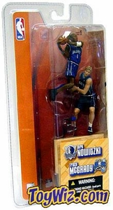 McFarlane Toys NBA 3 Inch Sports Picks Series 1 Mini Figures 2-Pack Tracy McGrady (Orlando Magic) & Dirk Nowitzki (Dallas Mavericks)