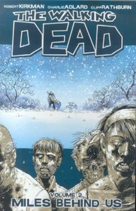 Image Comic Books Walking Dead Trade Paperback Vol. 2 Miles Behind Us