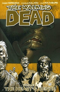 Image Comic Books Walking Dead Trade Paperback Vol. 4 The Heart's Desire