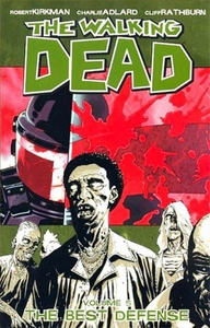 Image Comic Books Walking Dead Trade Paperback Vol. 5 Best Defense