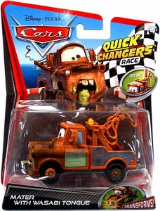 Disney / Pixar CARS 2 Movie 1:55 Quick Changers Race Mater with Wasabi Tongue