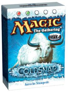 Magic the Gathering Coldsnap Theme Deck Aurochs Stampede