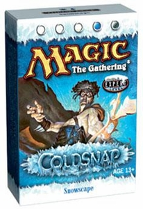 Magic the Gathering Coldsnap Theme Deck Snowscape