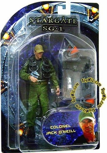 Diamond Select Toys Stargate SG-1 Series 1 Action Figure Col. Jack O'Neill