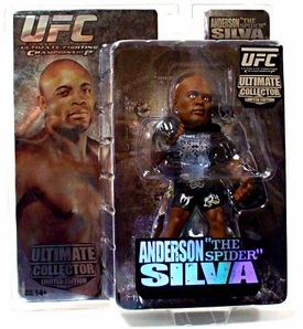Round 5 UFC Ultimate Collector Series 3 LIMITED EDITION Action Figure Anderson Silva Only 1,000 Made!