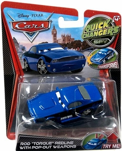 Disney / Pixar CARS Movie 1:55 Quick Changers Spy Rod