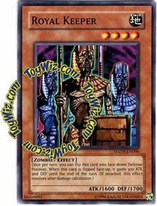 YuGiOh Zombie World Structure Deck Single Card SDZW-EN006 Royal Keeper