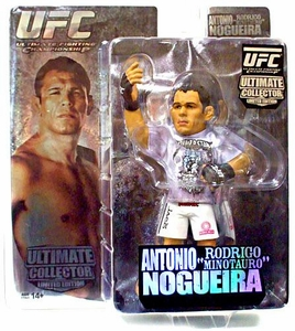 Round 5 UFC Ultimate Collector Series 3 LIMITED EDITION Action Figure Antonio Rodrigo Nogueira Only 1,000 Made!