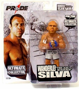 Round 5 UFC Ultimate Collector Series 3 Action Figure Wanderlei Silva [PRIDE Variant Chase Piece]