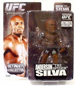 Round 5 UFC Ultimate Collector Series 3 Action Figure Anderson Silva