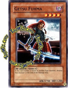 YuGiOh Zombie World Structure Deck Single Card SDZW-EN010 Getsu Fuhma