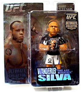 Round 5 UFC Ultimate Collector Series 3 LIMITED EDITION Action Figure Wanderlei Silva Only 1,000 Made!