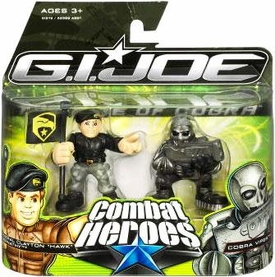 GI Joe The Rise of Cobra Combat Heroes 2-Pack General Clayton Hawk Abernathy & Cobra Viper