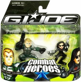 GI Joe The Rise of Cobra Combat Heroes 2-Pack Conrad