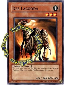 YuGiOh Zombie World Structure Deck Single Card SDZW-EN013 Des Lacooda