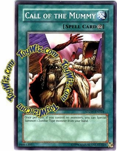 YuGiOh Zombie World Structure Deck Single Card SDZW-EN024 Call of the Mummy