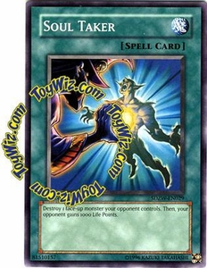 YuGiOh Zombie World Structure Deck Single Card SDZW-EN029 Soul Taker
