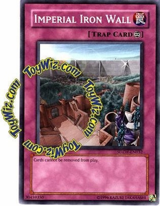YuGiOh Zombie World Structure Deck Single Card SDZW-EN032 Imperial Iron Wall