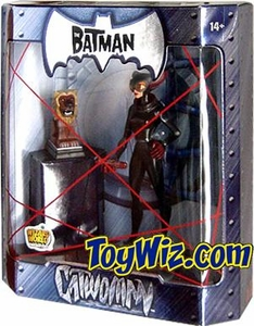 The Batman 2005 San Diego Comic Con Exclusive Action Figure Catwoman Lion Statue Variant