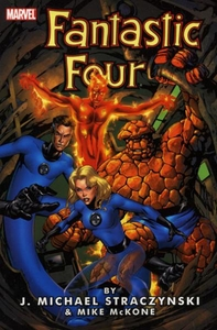 Marvel Comic Books Fantastic Four by J. Michael Straczynski Vol. 1
