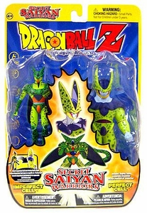 Dragon Ball Z Secret Saiyan Warriors Action Figure 2-Pack Imperfect Cell & Perfect Cell