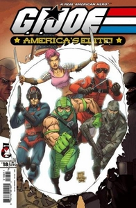 Comic Books GI Joe America's Elite #18