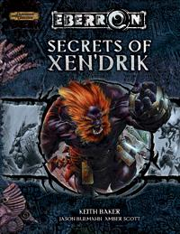 D&D Dungeons & Dragons Eberron Accessory Secrets of Xen'Drik