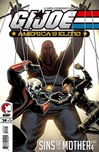 Comic Books GI Joe America's Elite #24