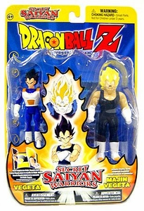 Dragonball Z Secret Saiyan Warriors Action Figure 2-Pack Vegeta & Majin Vegeta