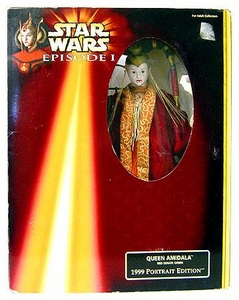 Star Wars Phantom Menace 1999 Portrait Edition 12 Inch Queen Amidala [Senate Gown] C-6 Box