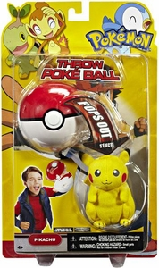 Pokemon Toy Plush Throw Poke Ball Series 15 Pikachu