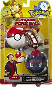 Pokemon Toy Plush Throw Poke Ball Series 15 Zorua