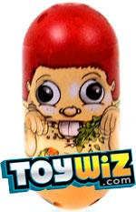 Mighty Beanz 2010 Series 2 Common Lookalike Single Bean #117 Hamster Boy