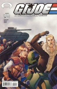 Comic Books GI Joe #24b