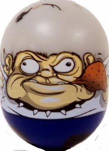 Mighty Beanz 2010 Series 2 Ultra Rare Lookalike Single Bean #121  Bulldog Man