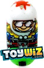 Mighty Beanz 2010 Series 2 Common Thrillseeker Single Bean #124 Mountain Biker
