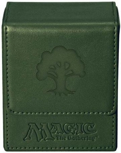 Ultra Pro Magic The Gathering Green Mana Symbol Premium Flip Deck Box
