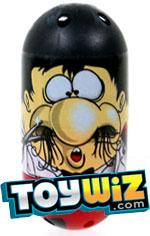 Mighty Beanz 2010 Series 2 Common Nose Single Bean #127 Hairy Nose